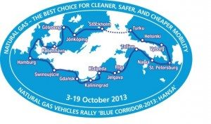 Gazprom Blue Corridor rally